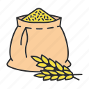 agriculture, cereal, crop, farm, grain, seed, wheat