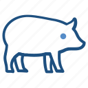 agriculture, animal, farm, farming, pig, piggy icon