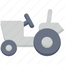 agriculture, farm, farming, tractor, transport icon