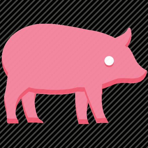 agriculture, animal, farm, farming, pig, piggy icon