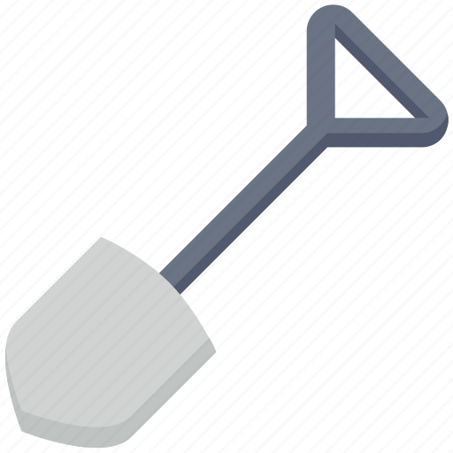 Digging, farming, farming tool, garden, spade icon - Download on Iconfinder