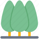 ecology, farming, forest, nature, park trees, trees icon