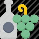agriculture, bottle, farm, farming, grapes, wine icon
