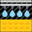 agriculture, drop, farming, garden, water