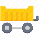 agriculture, farm, farming, trailer, vehicle icon