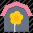 agriculture, farm house, farming, garden, house, plant