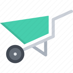 agriculture, cart, farm, farmer, garden icon