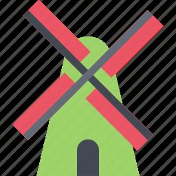 agriculture, farm, farmer, garden, mill icon