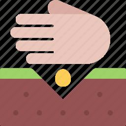agriculture, farm, farmer, garden, seed, seeding icon
