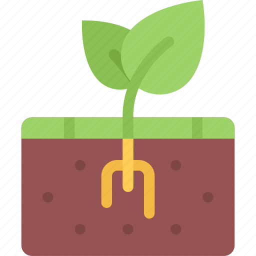 agriculture, earth, farm, farmer, garden, sprout icon