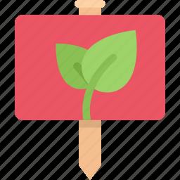 agriculture, farm, farmer, garden, sign, sprout icon