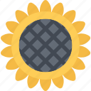 agriculture, farm, farmer, garden, sunflower icon