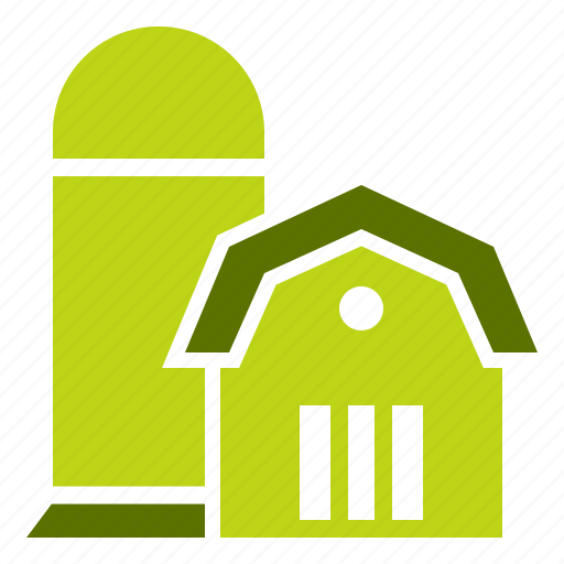 agriculture, barn, farm, silo, storage, storehouse, village icon