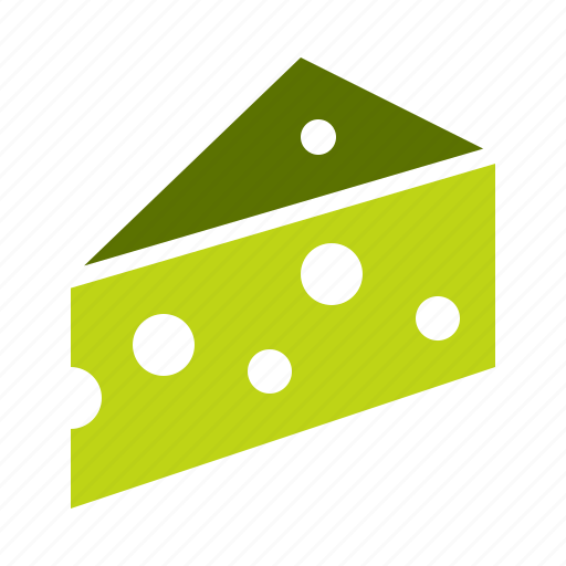 cheese, dairy, fat, food, gastronomy, milk, slice icon