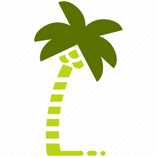 beach, coconut, plantation, summer, tourism, trees, vacation icon