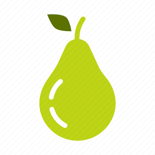 food, fruit, healthy, pear icon