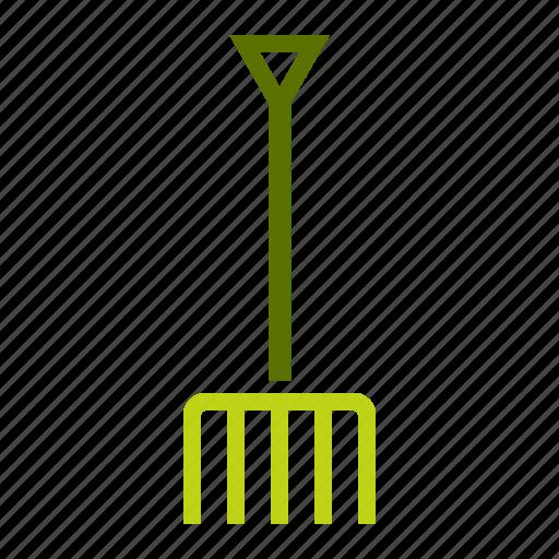 agriculture, farm, garden, gardening, pitchfork, tool icon