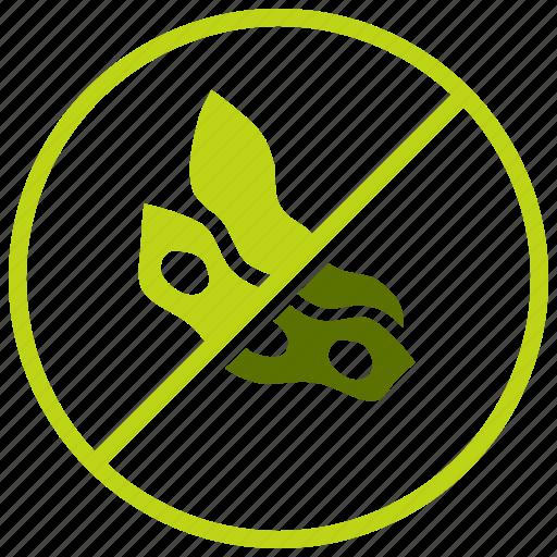allergen, allergy, antigen, forbidden, soy, soya, warning icon