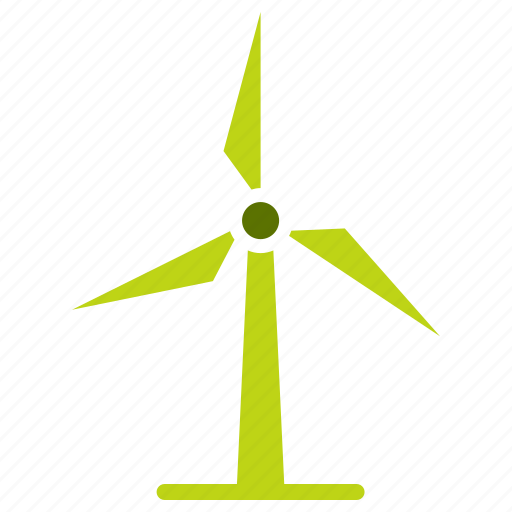 electricity, energy, mill, power, turbine, wind, windmill icon