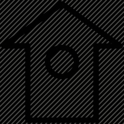 home, real estate, shack, villa, winter icon