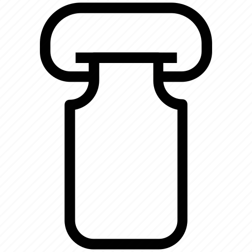 canister, container, dairy, milk, milk container icon