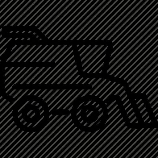 agrimotor, combine, farming, harvest, tractor icon
