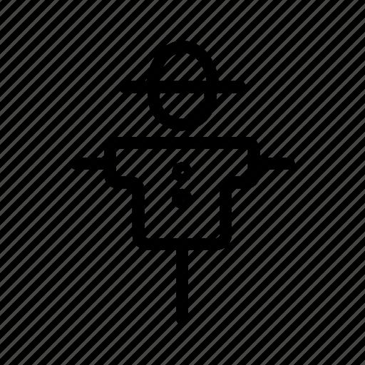 bugaboo, farm, field, fright, scarecrow icon