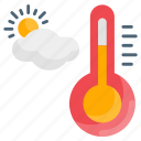 control, indicator, monitoring, temperature, thermometer, weather