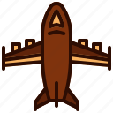 aircraft, army, fighter, force, jet, military, plane icon