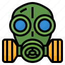 gas, mask, protect, toxic