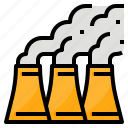 air, environment, factory, pollution icon