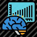 brain, cells, growth, pollution icon
