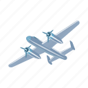air, aircraft, airplane, plane, transport, vehicle icon