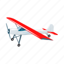 air, aircraft, airplane, plane, sports, transport, vehicle icon