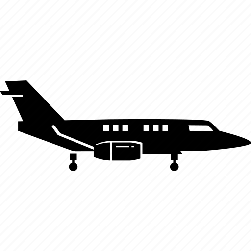 aeroplane, airplane, jet, luxury, personal, plane, private icon