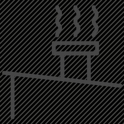 air, flow, ventilate, ventilation, ventilation chimney, ventilators icon
