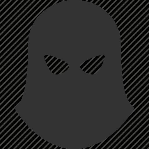 balaklava, carnival, hidden face, mask, masked terrorist, terrorism, tragedy icon