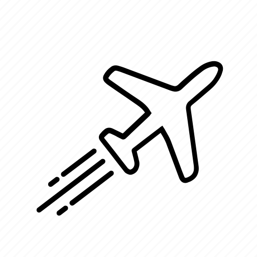 adventure, aeroplane, airport, flying, holiday, plane, travel icon