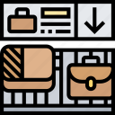 baggage, luggage, claim, arrival, terminal