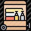 luggage, suitcase, baggage, travel, journey
