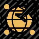 airline, international, plane, transport, worldwide icon