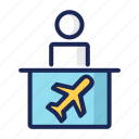 airplane, airport, flight, flying, luggage, passport, transportation