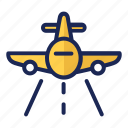airplane, airport, flight, flying, luggage, passport, transportation icon