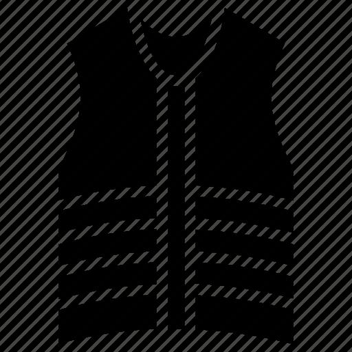 safety gear, safety jacket, safety vest, security jacket, security vest icon