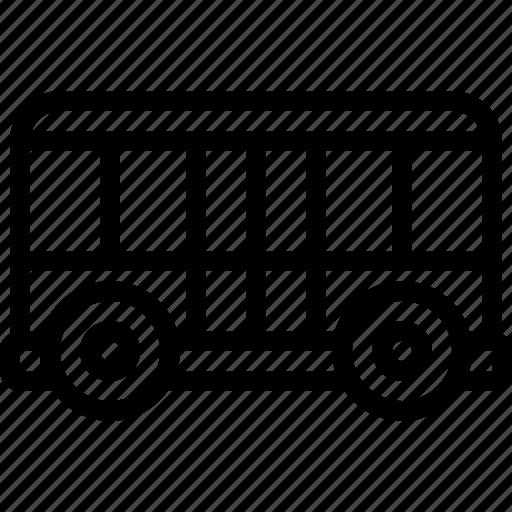 airport, bus, transport, transportation icon