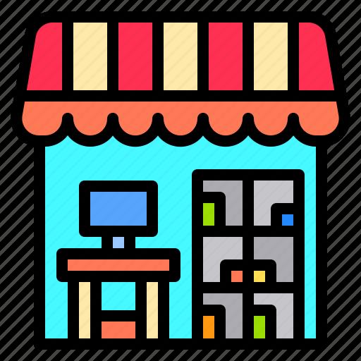Airport, flight, shop, terminal, tourism, travel, trip icon - Download on Iconfinder
