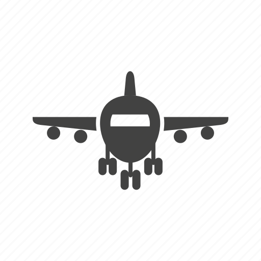 'Airport Glyph Black' by IconBaandar Team