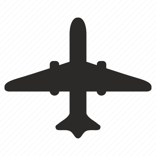 airbus, airport, navigation, way icon