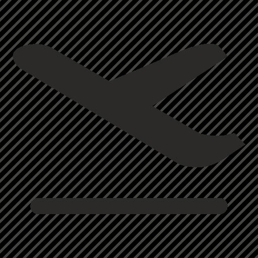 airport, departure, navigation icon