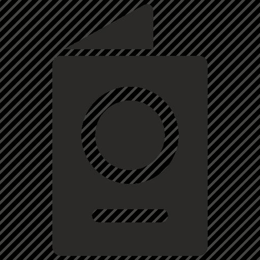 document, passenger, passport, visa icon